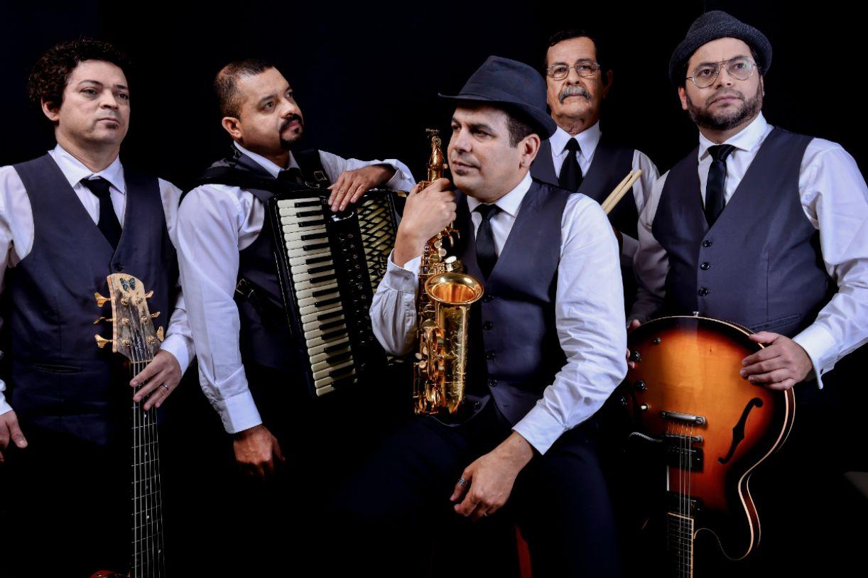 Quinteto oferece show gratuito nesta sexta (27)