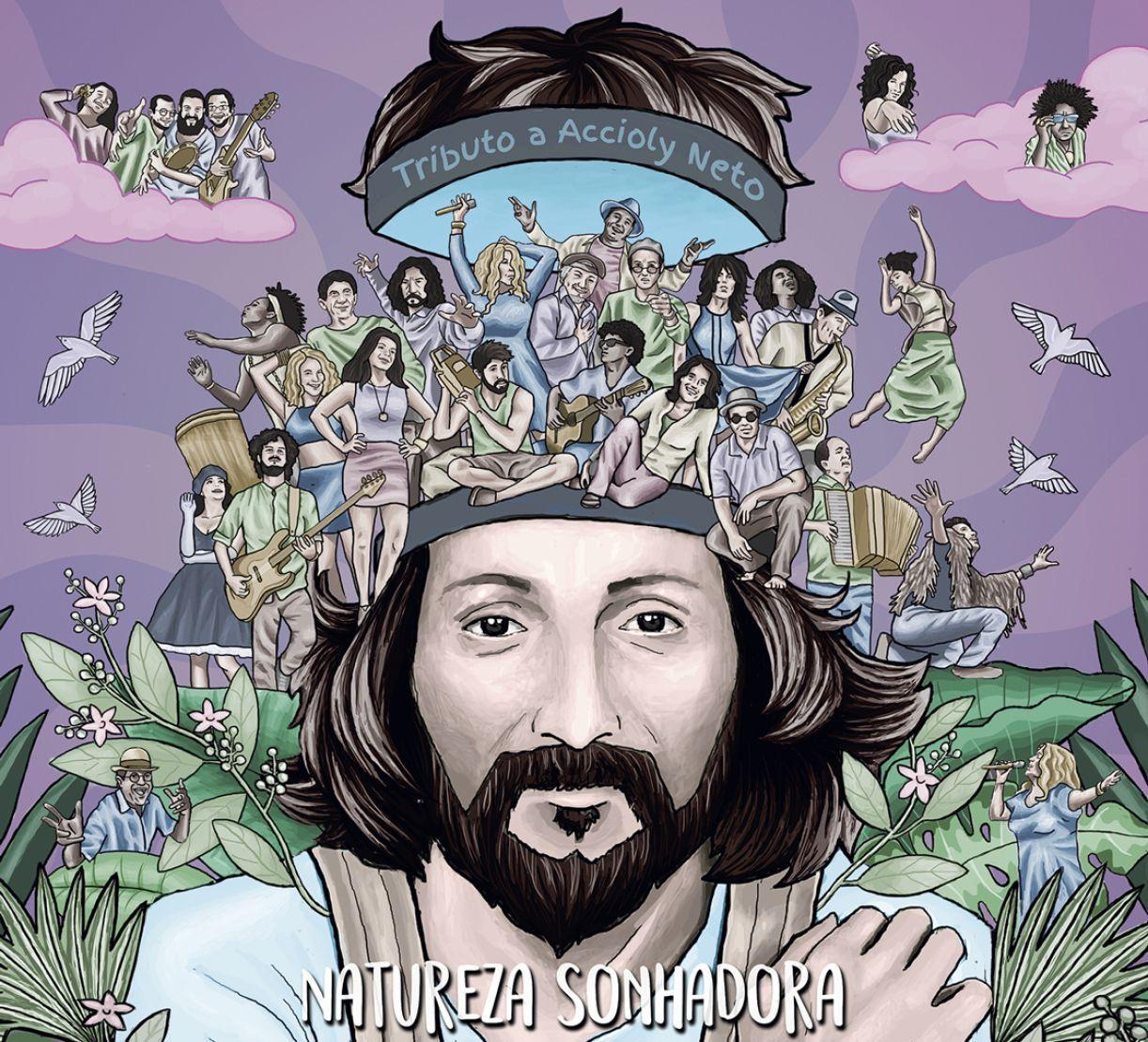 O disco 'Natureza sonhadora' foi idealizado pela filha do artista, a produtora Talitha Accioly