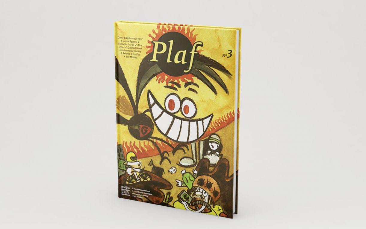 Capa do terceiro número da revista Plaf