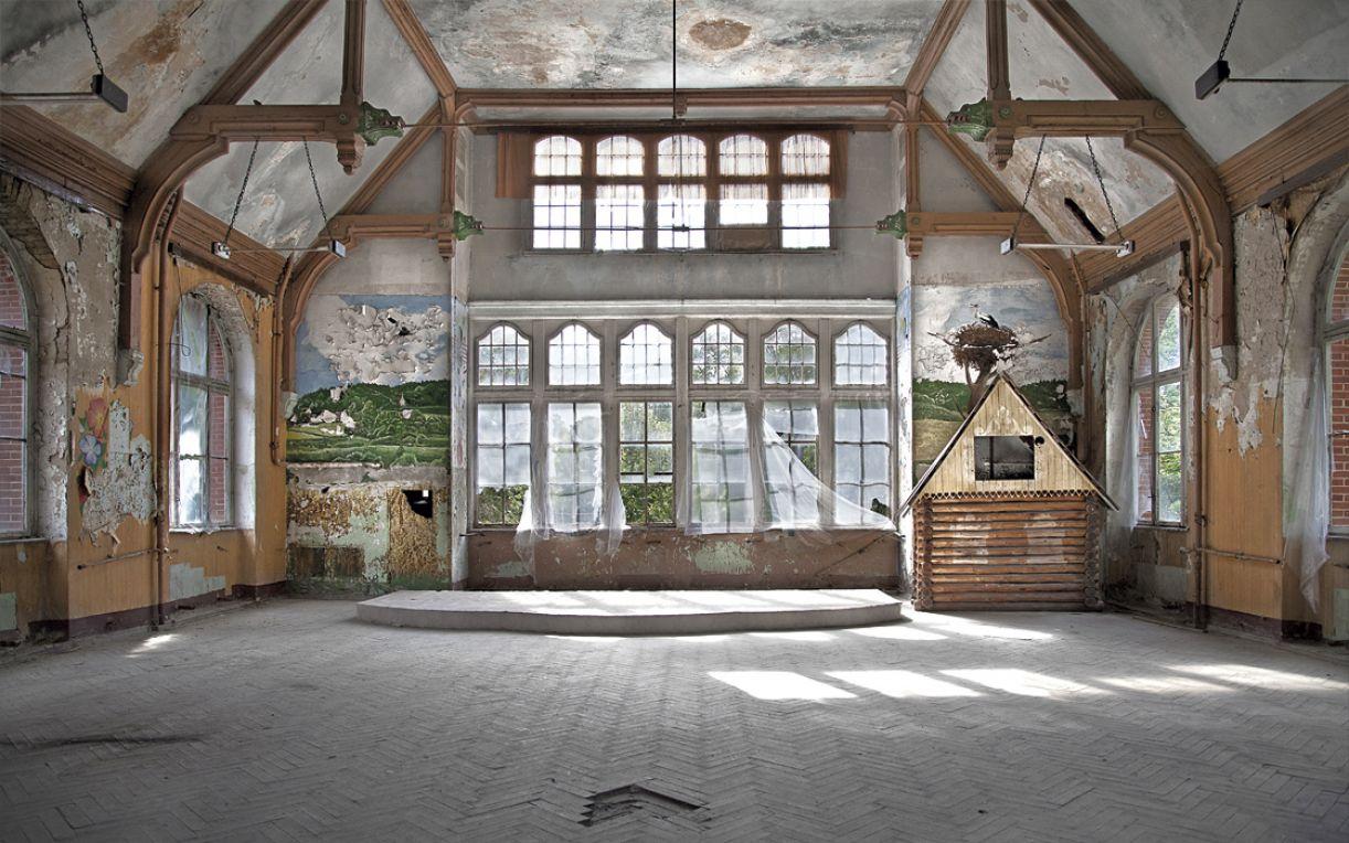 'Beelitz I', impressão jato de tinta sobre papel algodão, 160 x 100 cm, 2013