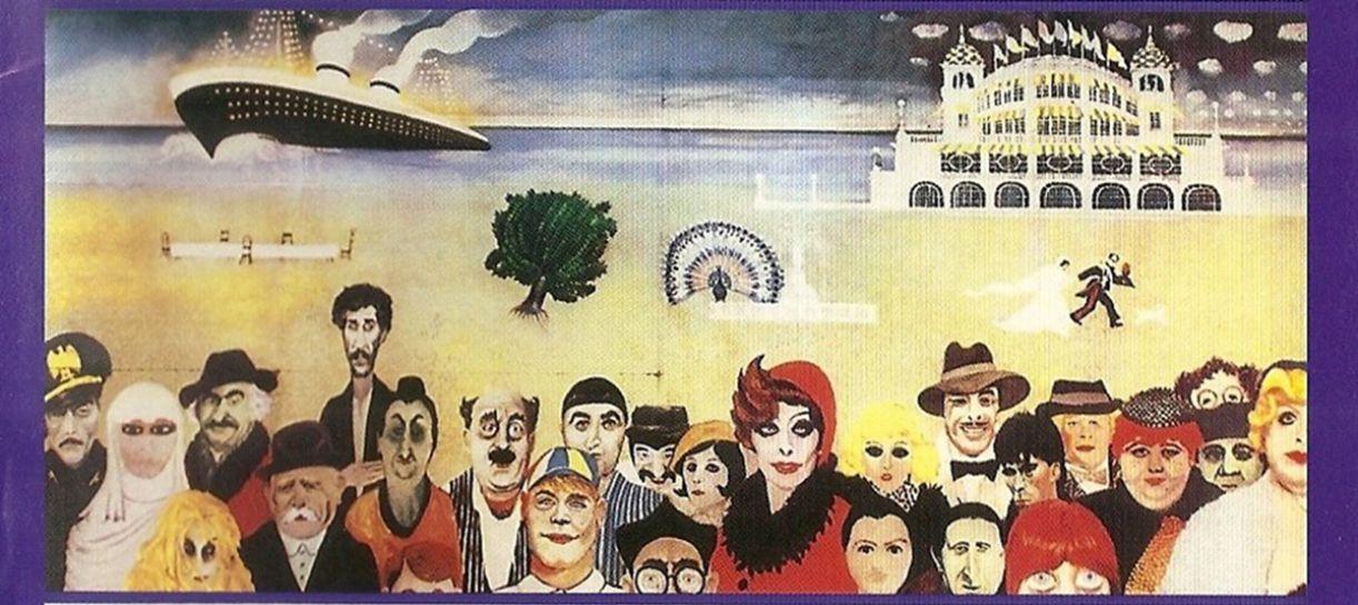 Ilustração da capa do sexto disco do 'Asas da América', organizado por Carlos Fernando. O LP vem com textos de Stepple