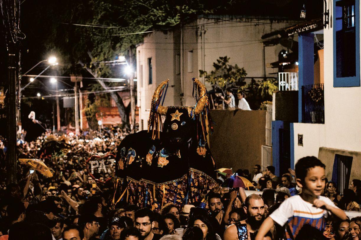 Cortejo pré-Carnaval da Macuca em Olinda