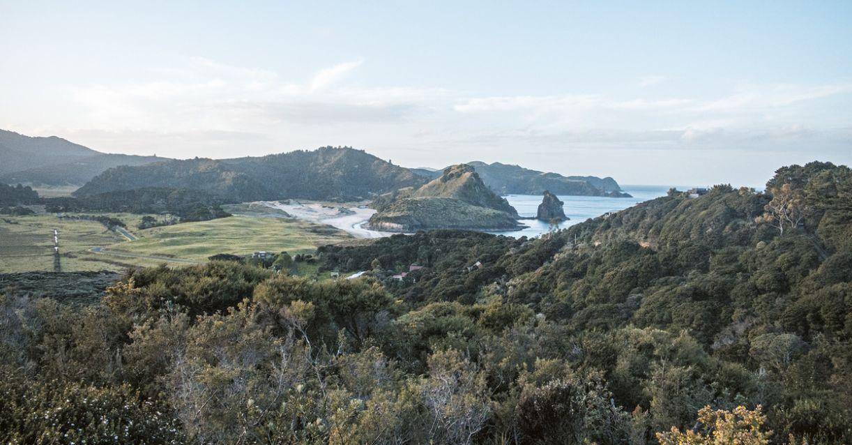 Grande Barreira, na Nova Zelândia