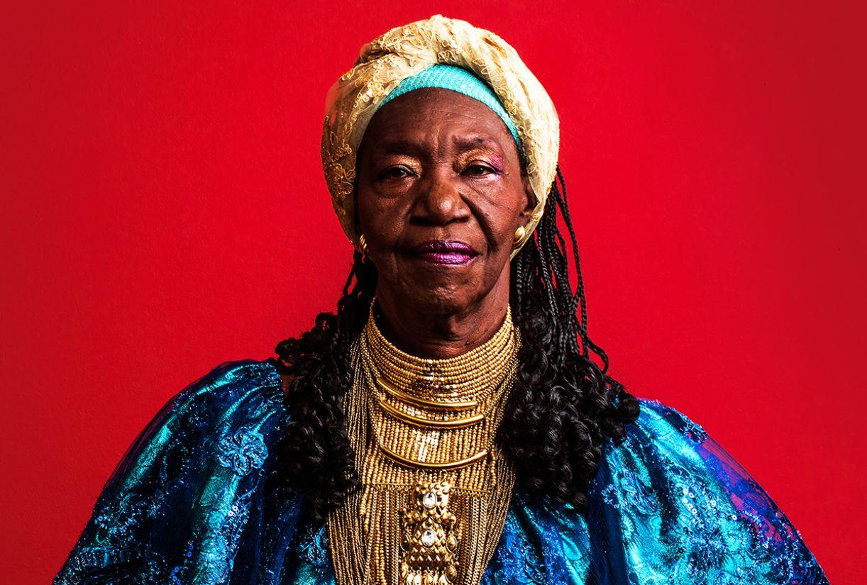 Lia de Itamaracá, a Rainha da Ciranda
