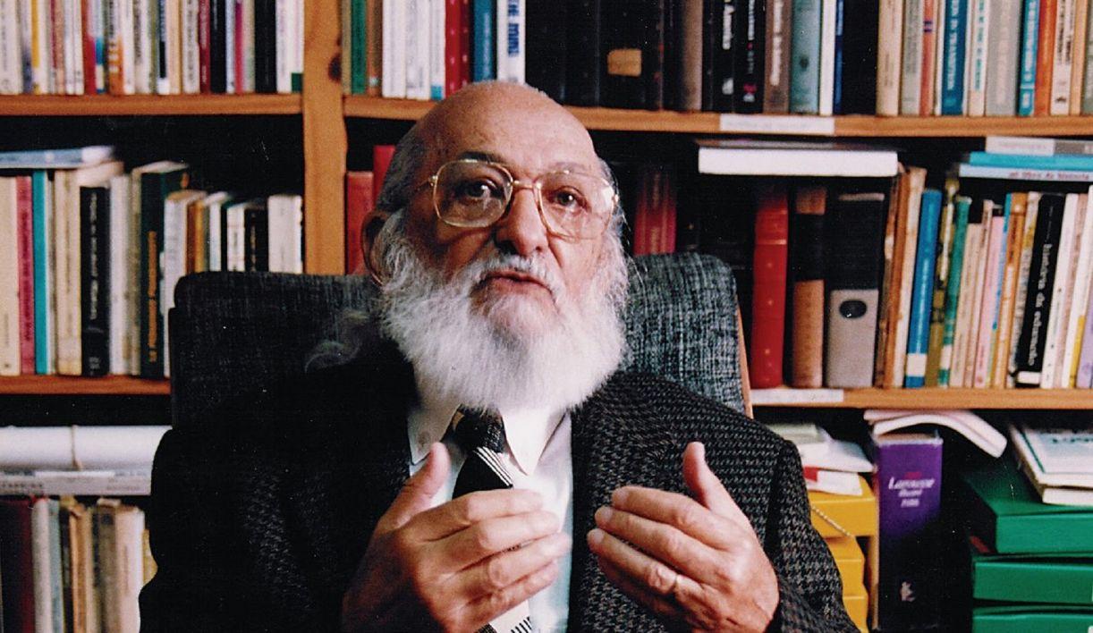 O mestre Paulo Freire