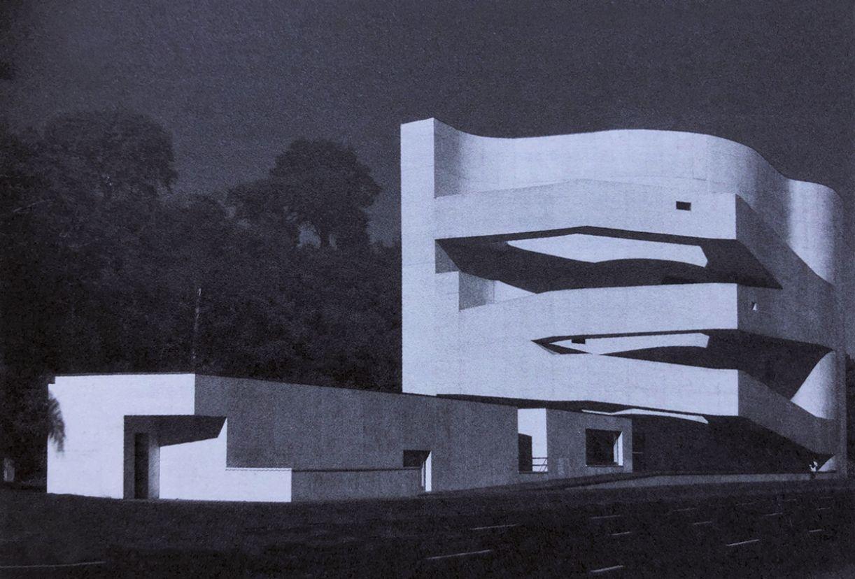 Projeto do arquiteto português Álvaro Siza para a Fundação Iberê Camargo (Porto Alegre, 1998-2008)