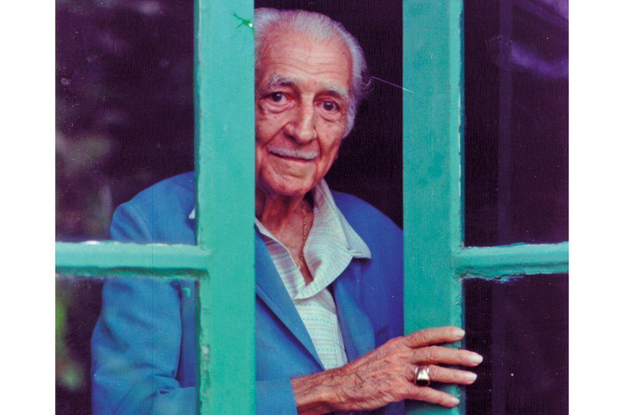 O sociólogo Gilberto Freyre