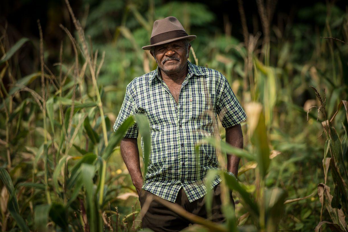 Luiz Paixão, mestre rabequeiro e agricultor da Mata Norte pernambucana