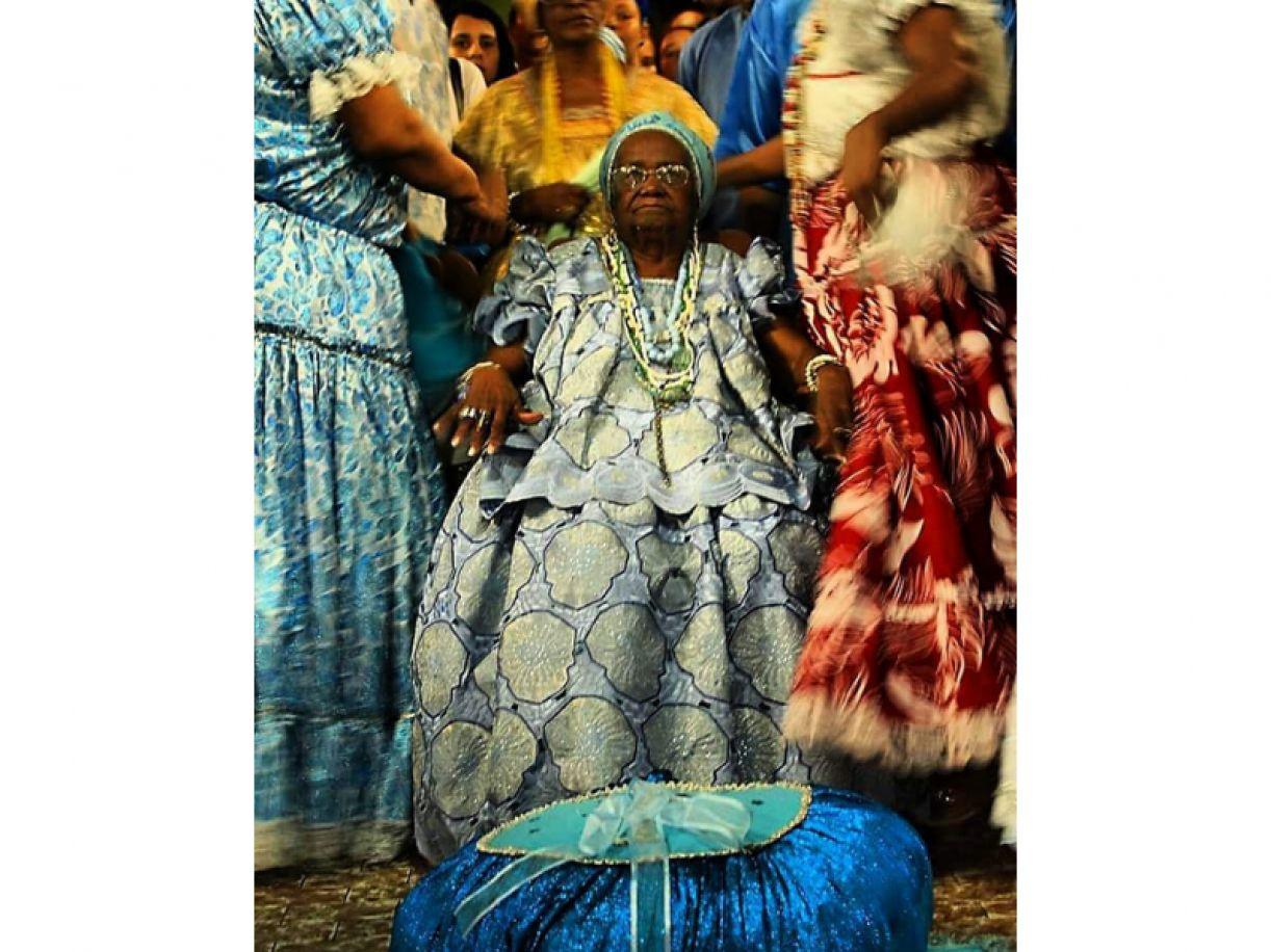 Mãe Lourdes de Yemanjá, yalorixá do Terreiro Xambá