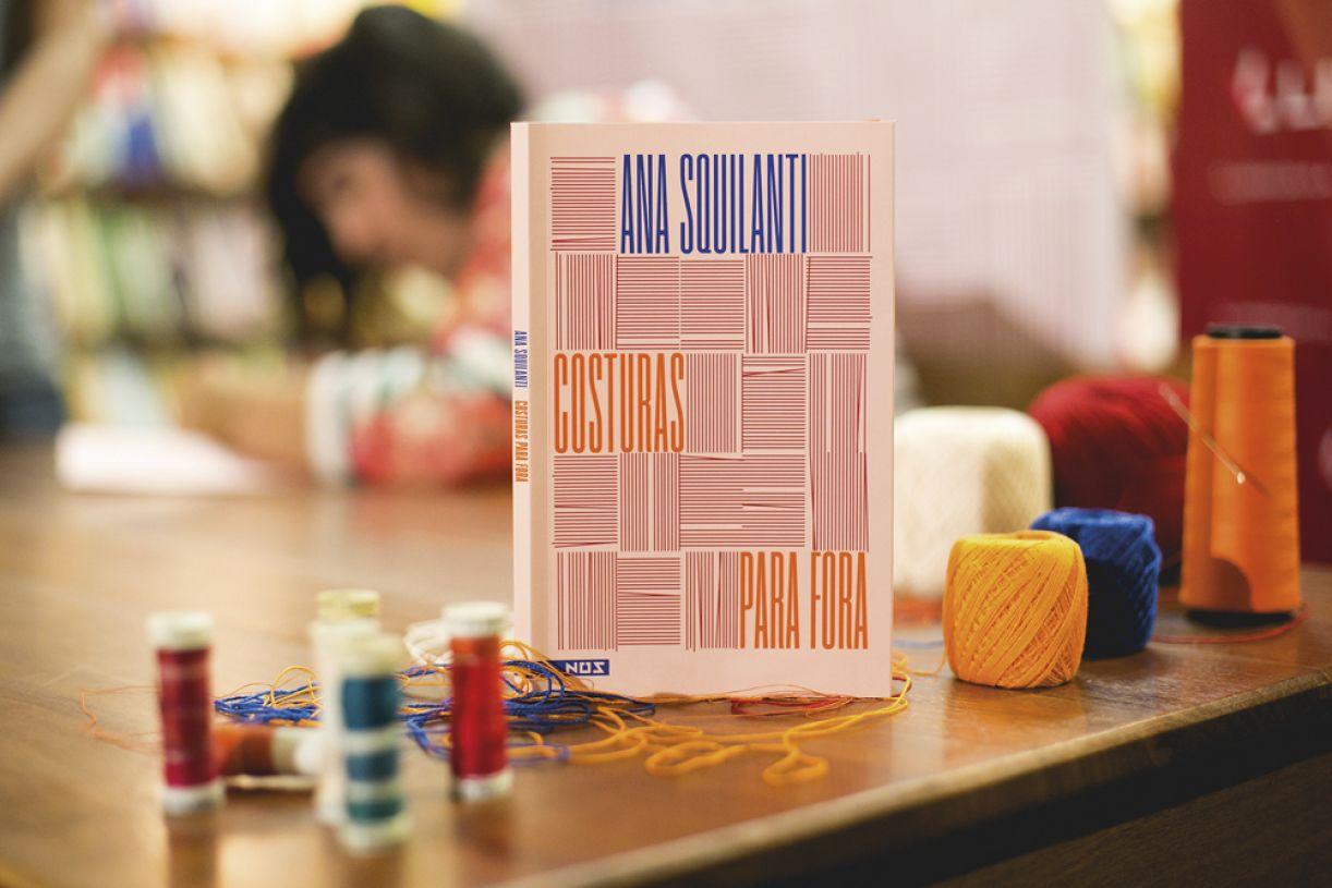 'Costuras para fora' é o livro de estreia da autora