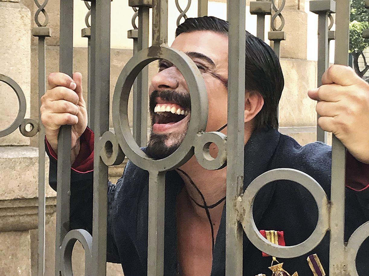 Espetáculo é baseado na biografia de João Caetano