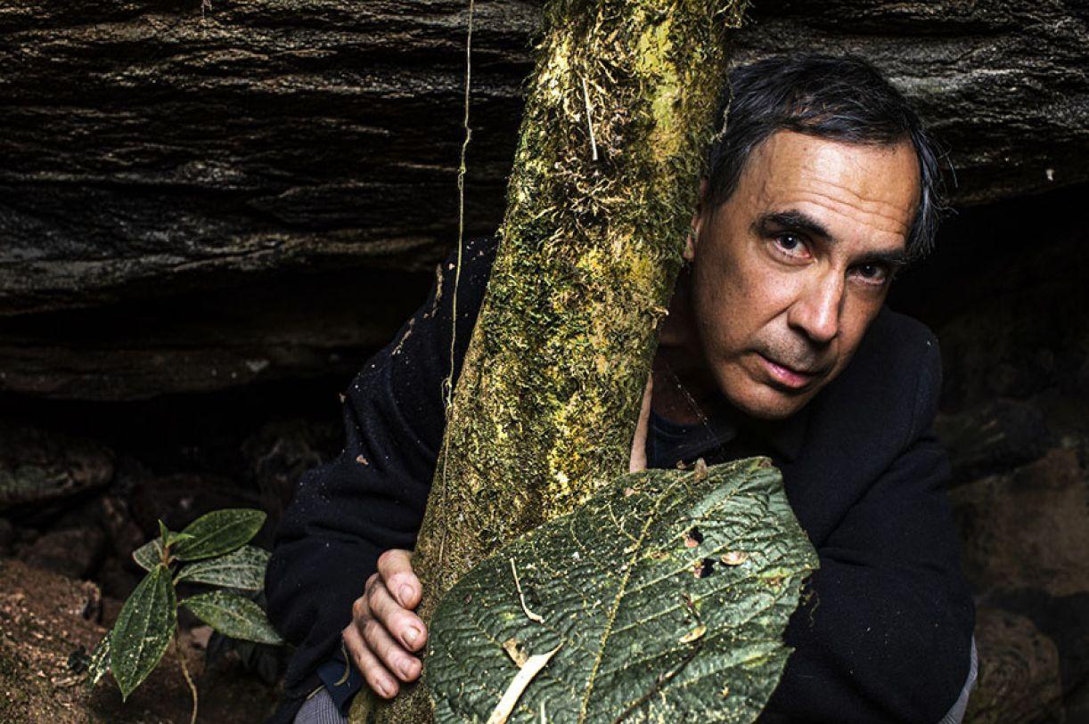 Arnaldo Antunes em seu sítio
