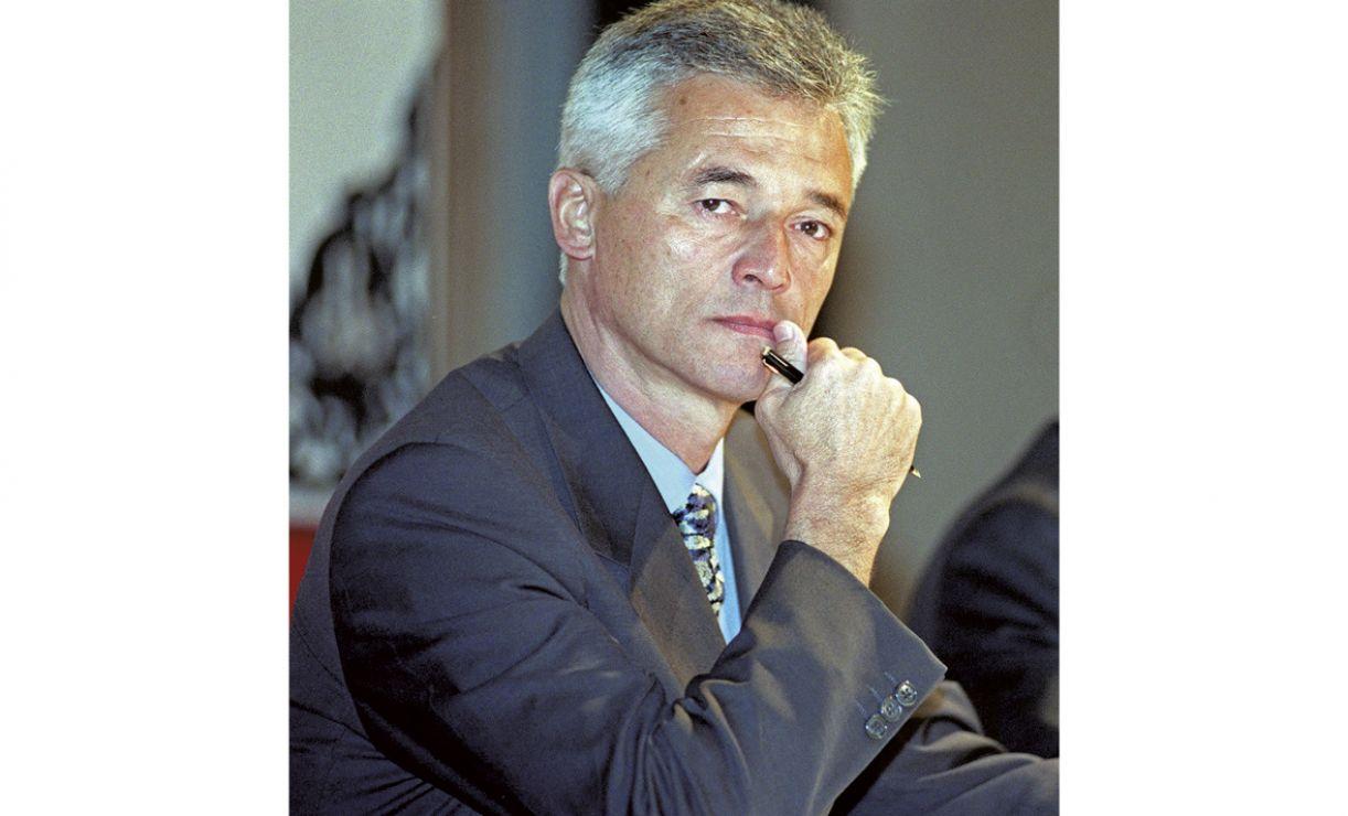 O diplomata brasileiro Sergio Vieira de Mello, em 2000, na Malásia
