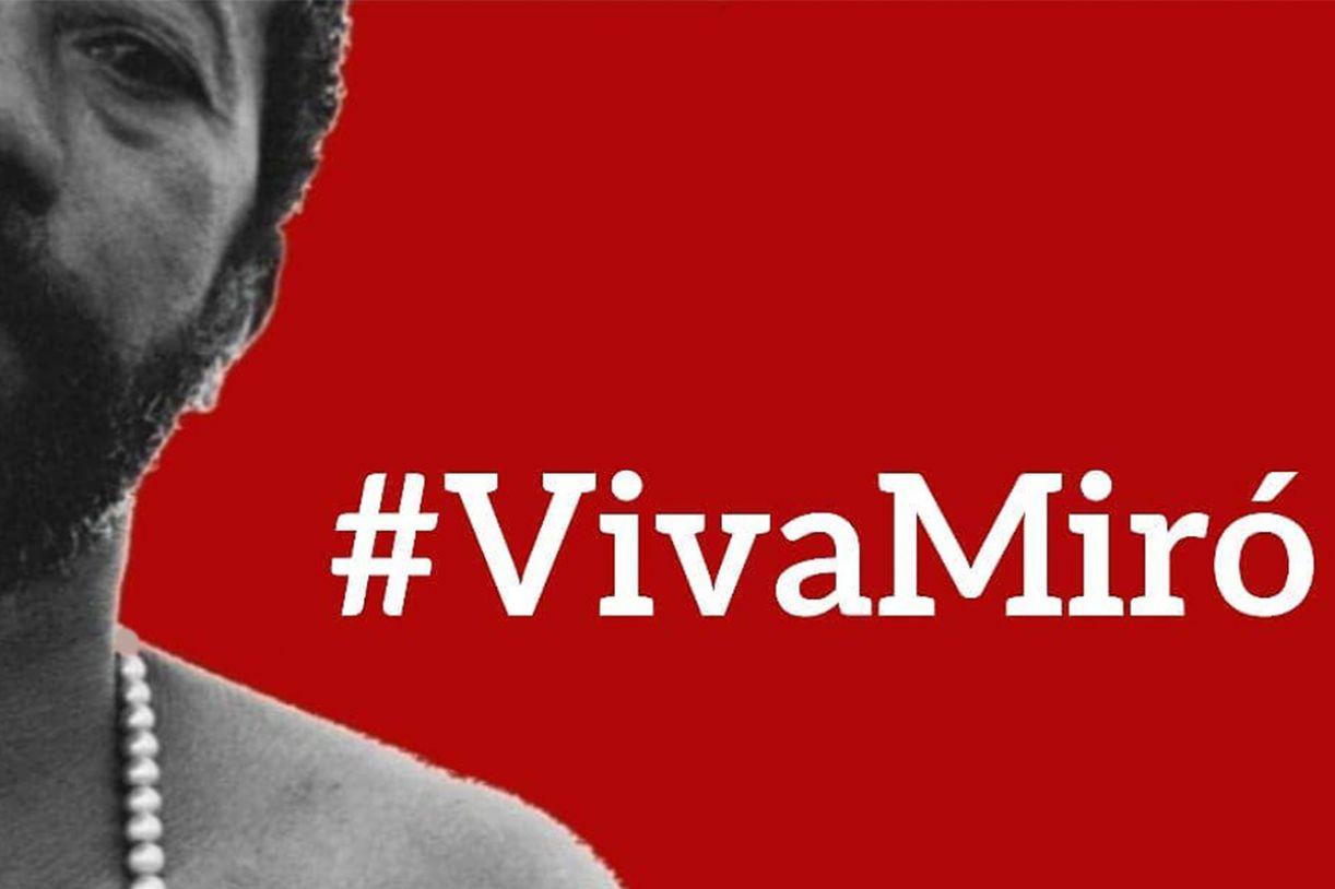 Artistas, amigos e admiradores lançam campanha para ajudar Miró da Muribeca