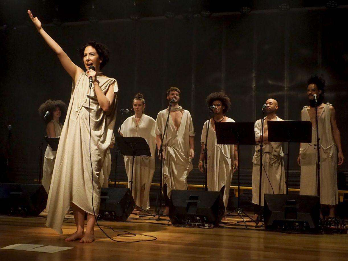 Ligiana Costa construiu o álbum 'EVA' de modo inteiramente vocal