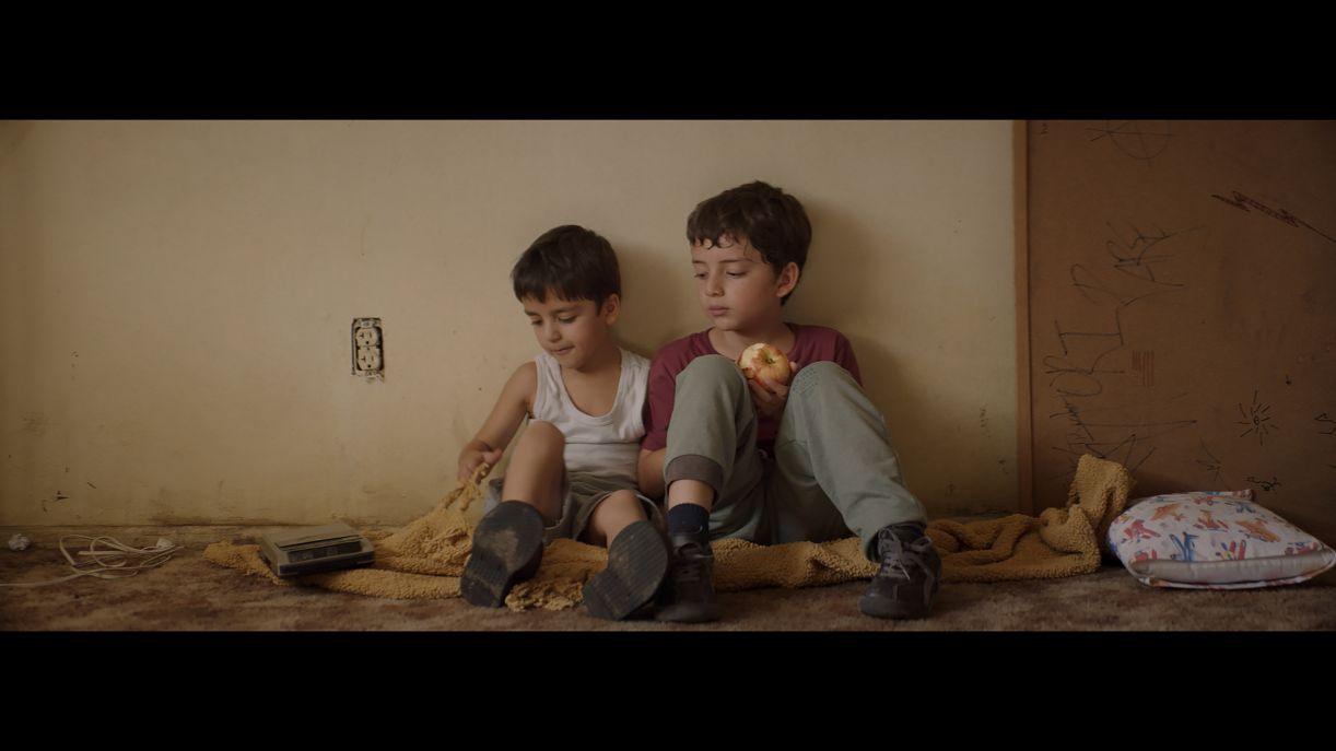Cena de 'Los lobos', filme mexicano