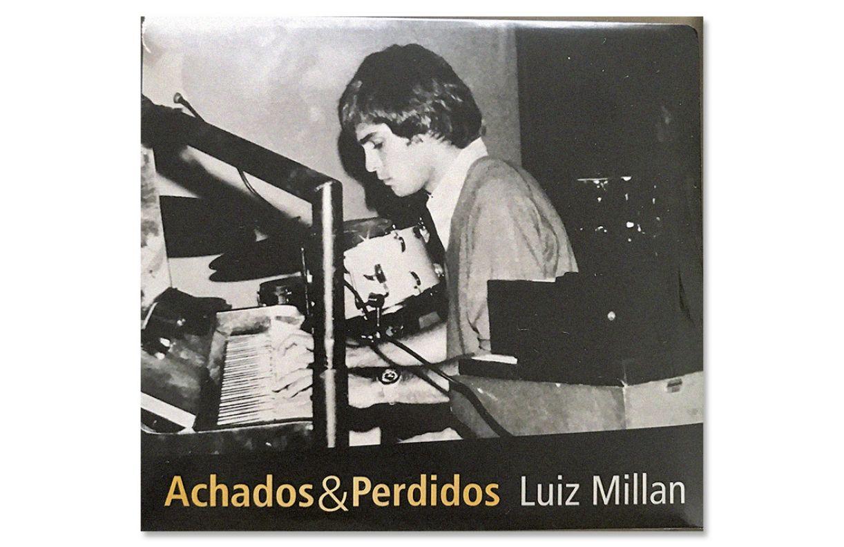 Capa do quinto álbum do paulistano Luiz Millan