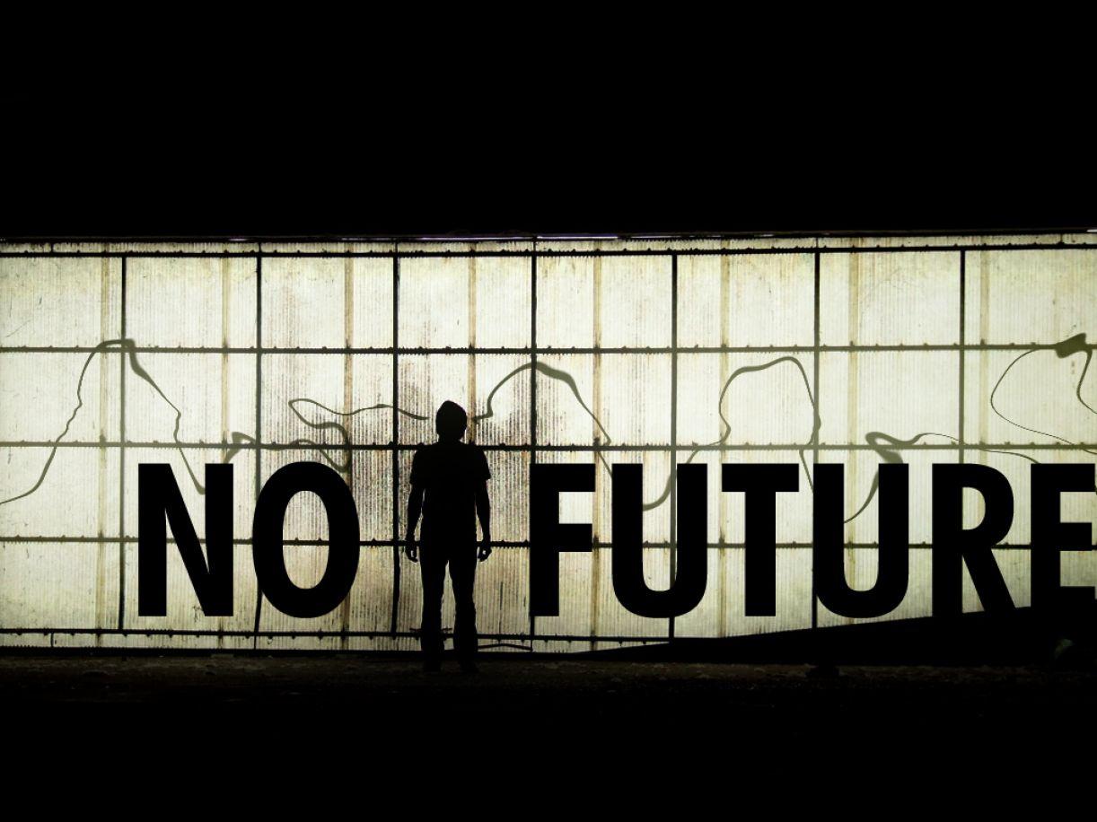 'No future', por Emimerx