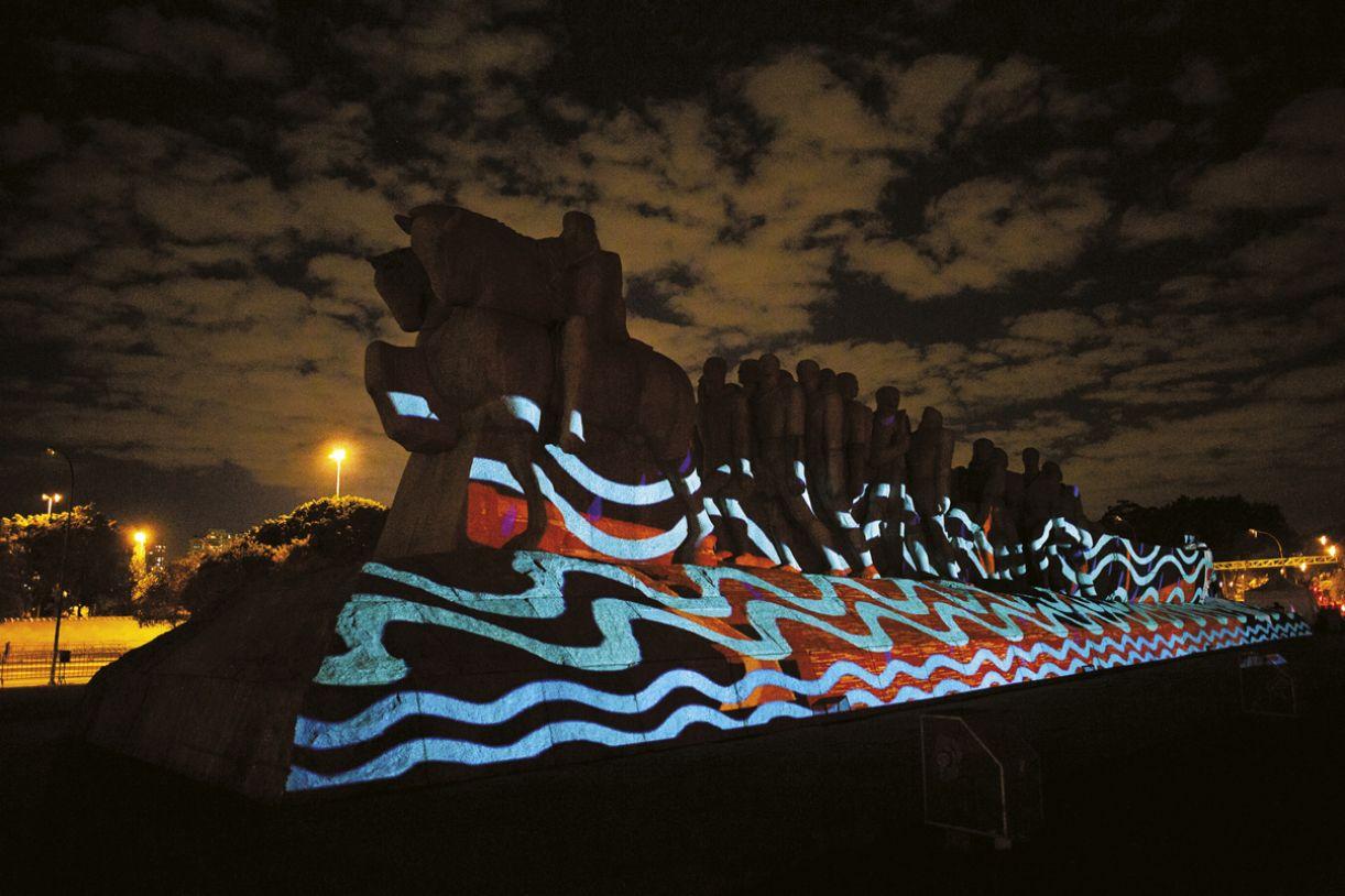 'Brasil terra indígena' (2020), Denilson Baniwa
