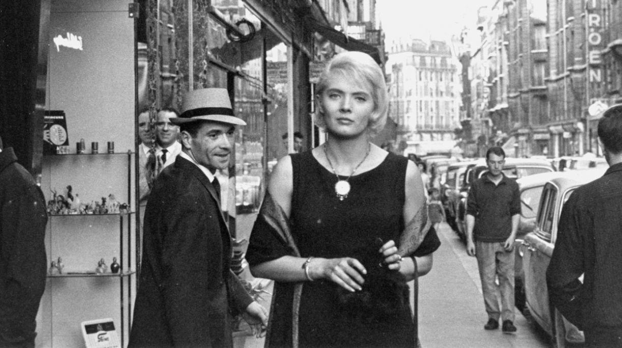 Cena de 'Cléo das 5 às 7h', obra-prima da cineasta e fotógrafa Agnès Varda
