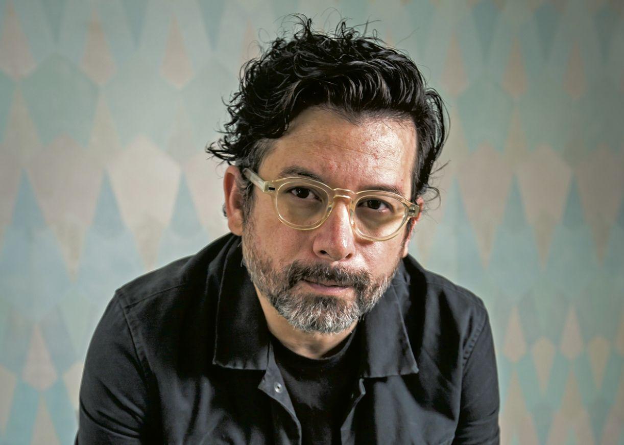 O escritor João Paulo Cuenca