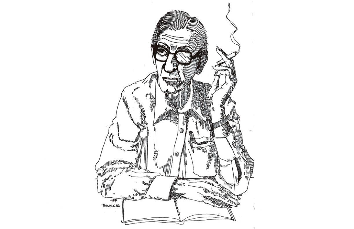 Representação do poeta Valério Pereléchin