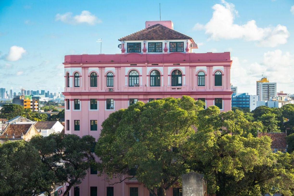 Vista para o Hotel Central