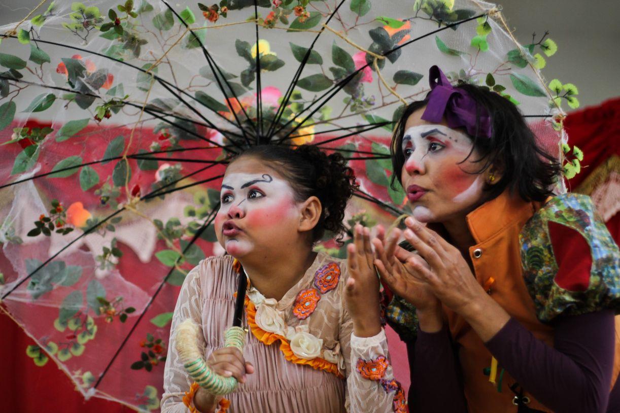 Cia. Biruta de Teatro, de Petrolina, é uma das atrações deste 'Chama Violeta'
