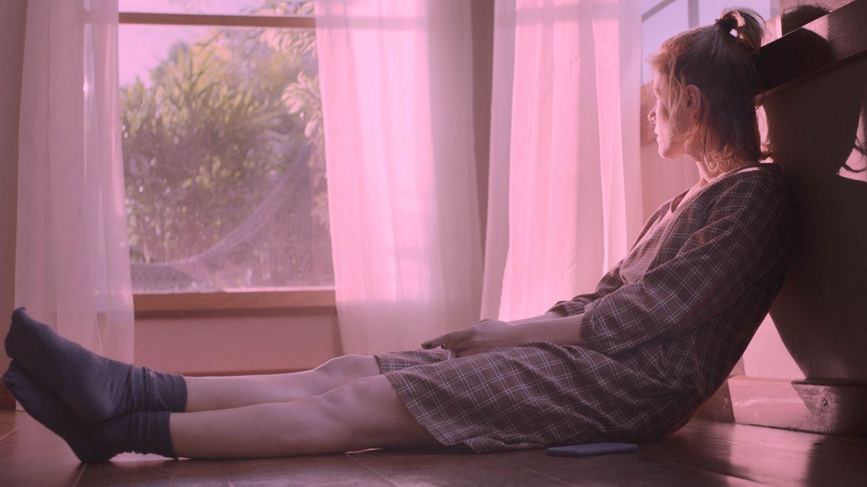 Cena do filme 'A nuvem rosa', feito antes da pandemia