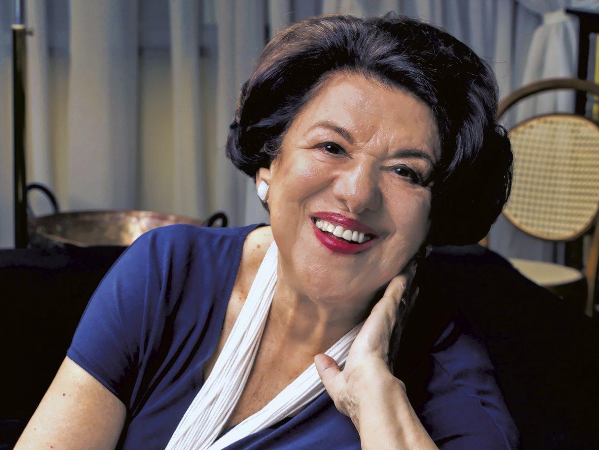 A autora Ruth Rocha
