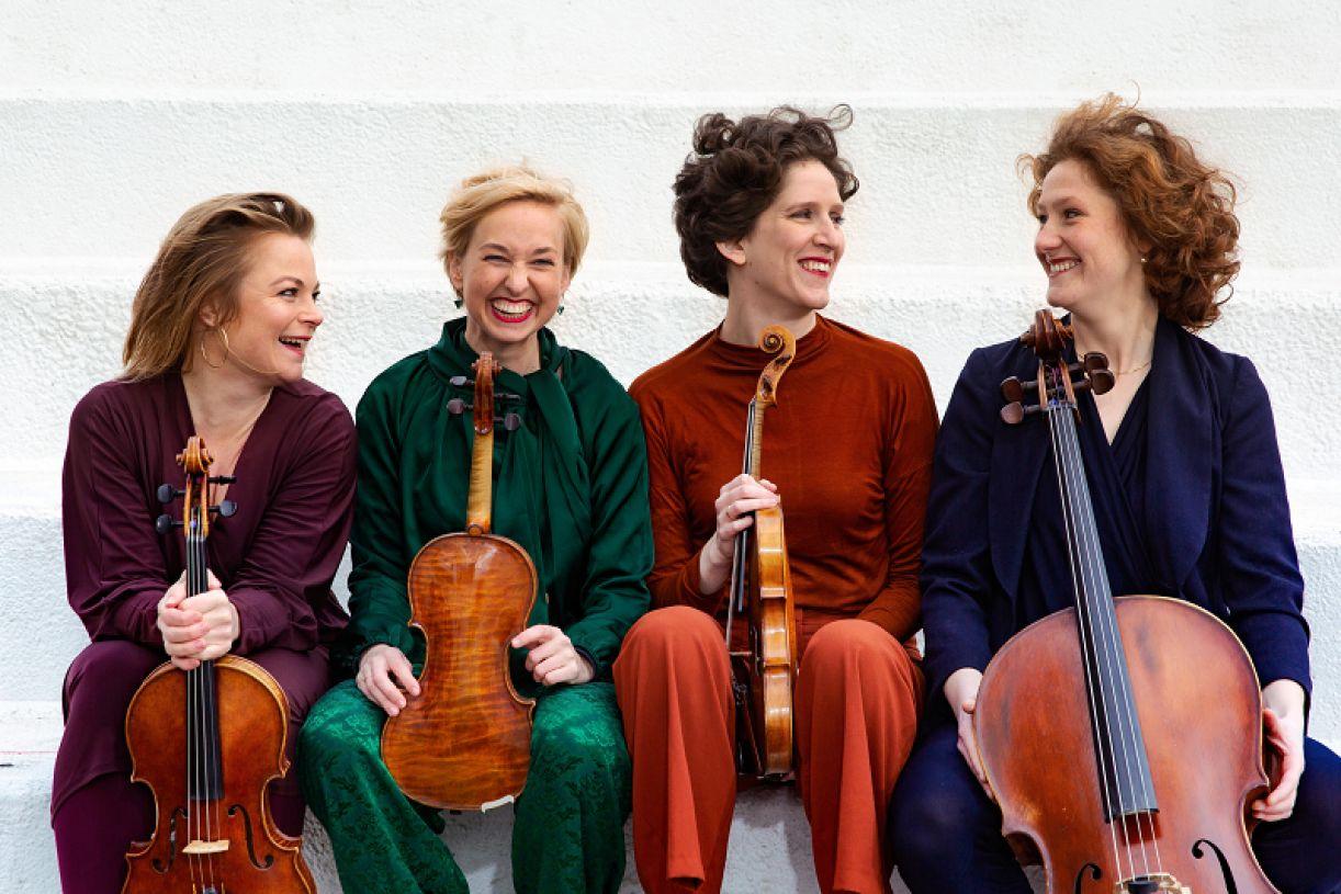 Ragazze Quartet é um dos destaques do evento