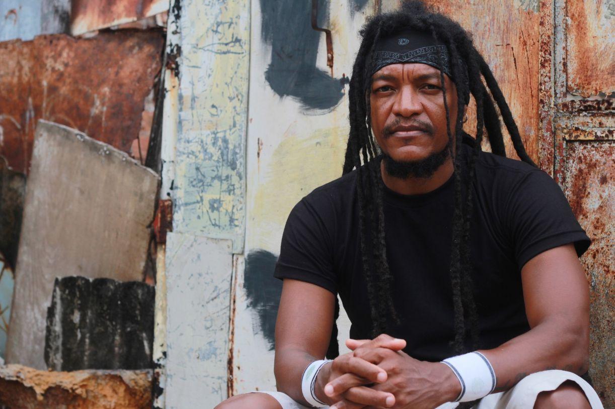 O músico Cannibal é um dos idealizadores do festival