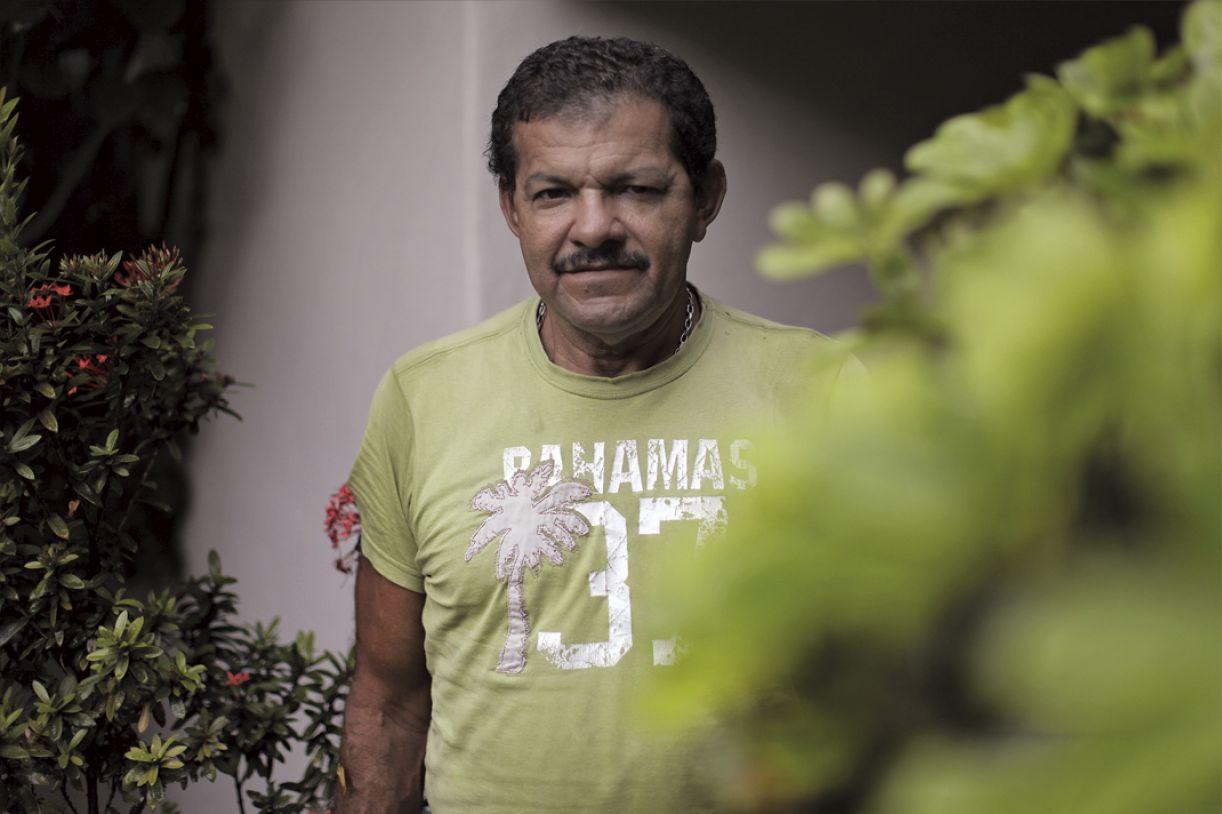 Cândido da Silva, da Articulação Aids PE, convive há 18 anos com a infecção e é ativista em tempo integral