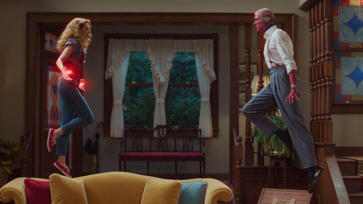O seriado é protagonizado por Elizabeth Olsen (Wanda) e Paul Bettany (Vision)