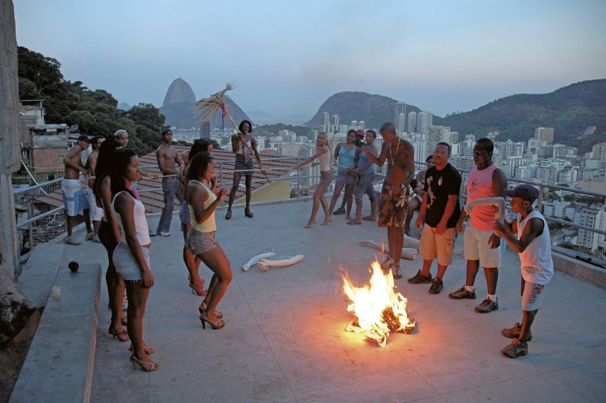 Frame do vídeo 'Funk Staden' (2007)