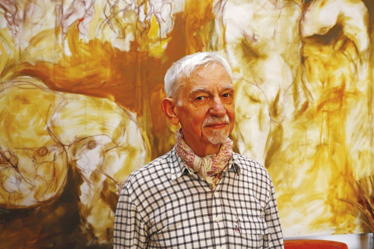 O autor João Silvério Trevisan, para o lançamento de 'Pai, pai'