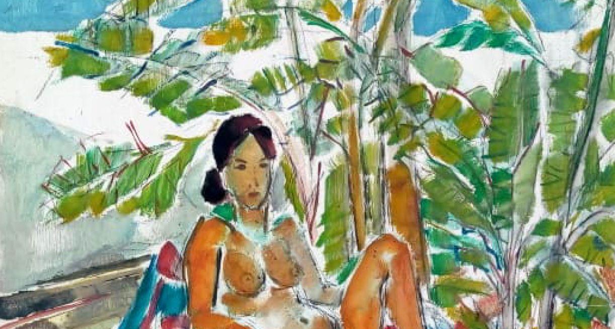'Nu', pintura de 1986 de Carneiro da Cunha