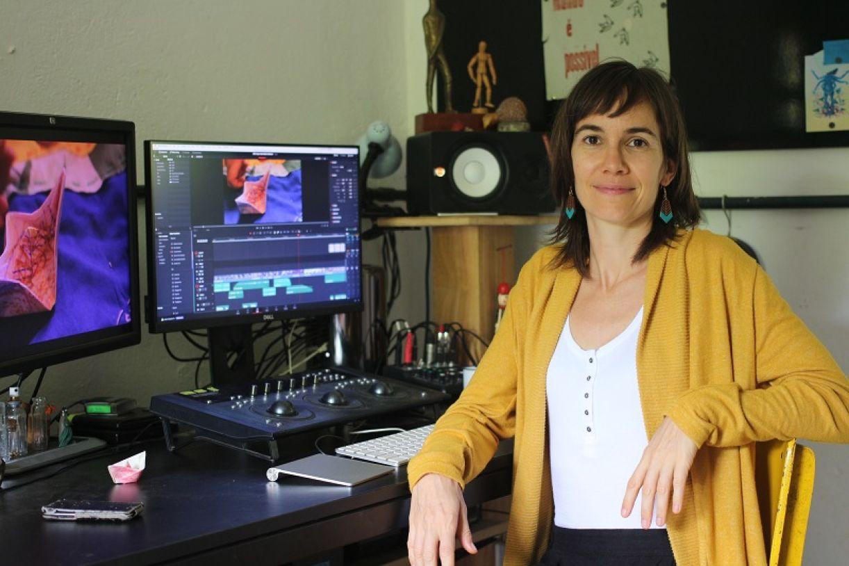 Amandine Goisbault, uma das idealizadoras do projeto