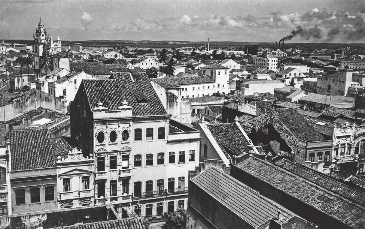Sobrados da Rua Nova, Recife, 1940