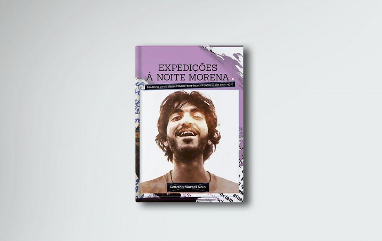 Capa do livro 'Expedições à noite morena: em defesa de um cinema vadio'
