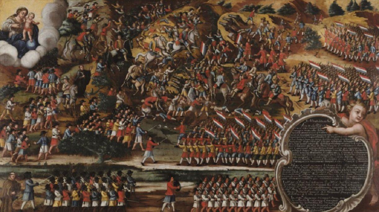 Batalha dos Guararapes, ex-voto cênico