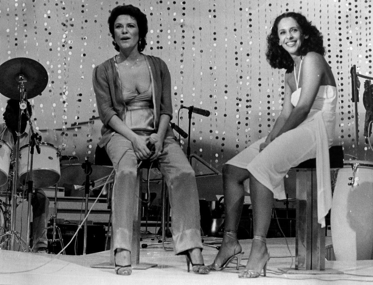 Elis Regina e Gal Costa em 1981