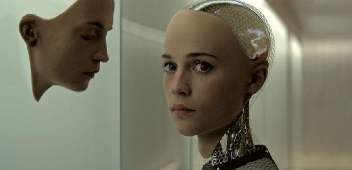 Ava (Alicia Vikander), a androide de 'Ex_machina' (2014)