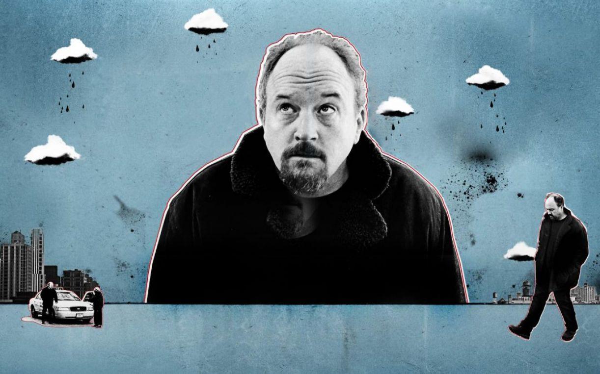 Ilustração da série 'Louie'