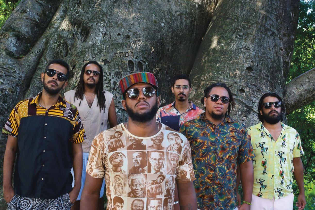 Integrantes da banda pernambucana