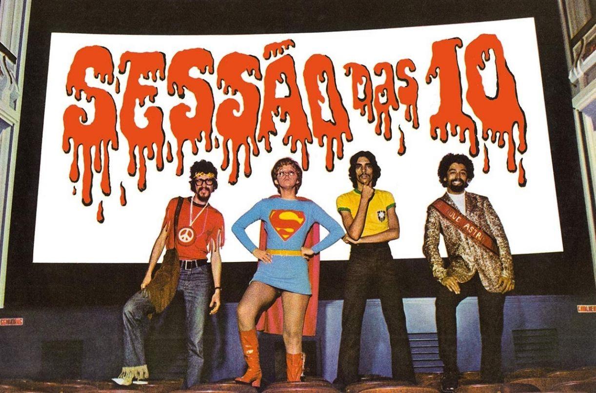 Detalhe da capa com o quarteto. Edy Star (último da direita) é o único vivo