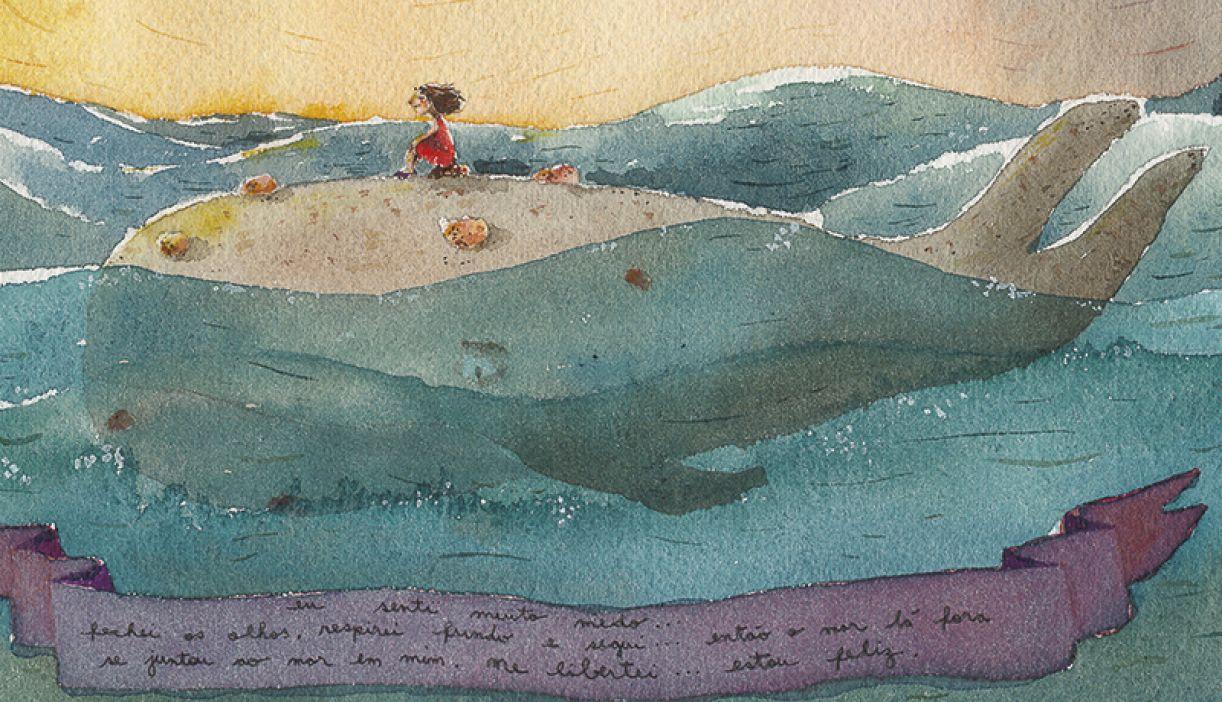O trabalho de Simone nos remete à leveza lúdica da infância