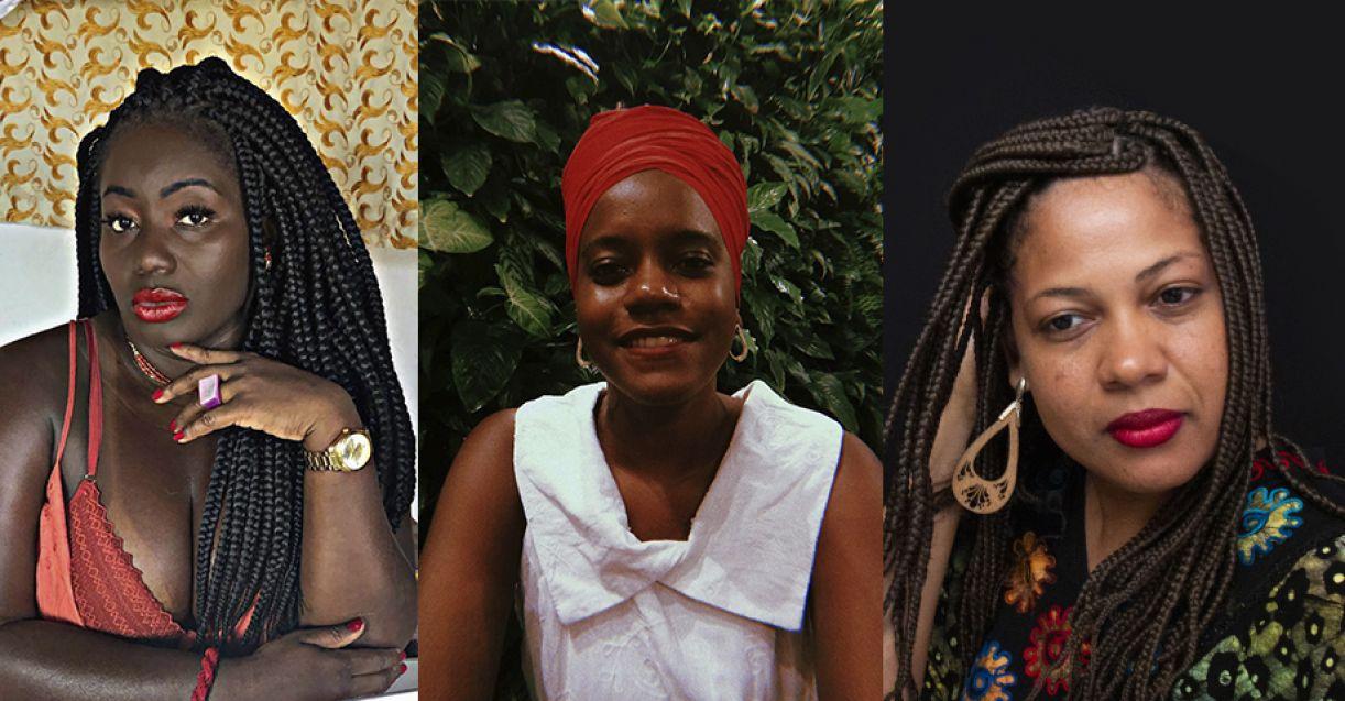 Carla Akotirene, Eduarda Nunes e Paula Ferreira debatem perspectivas da interseccionalidade, da comunicaçãoe da educação pública