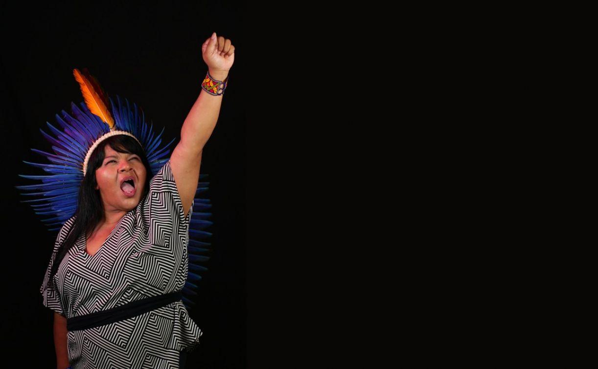 Sônia Guajajara, nascida no Território Indígena Arariboia (MA)