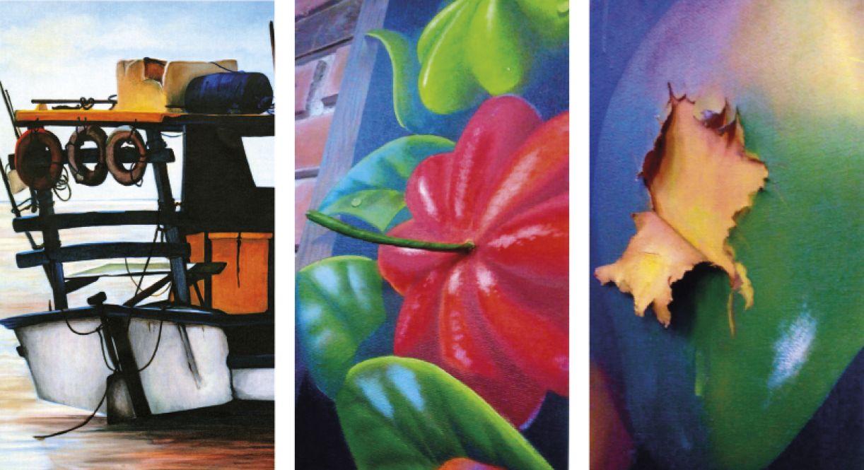 """""""A pintura é sempre uma escolha, uma ótica pessoal, e nisso vai toda a diferença, de acordo com os sentimentos, a afetividade"""""""